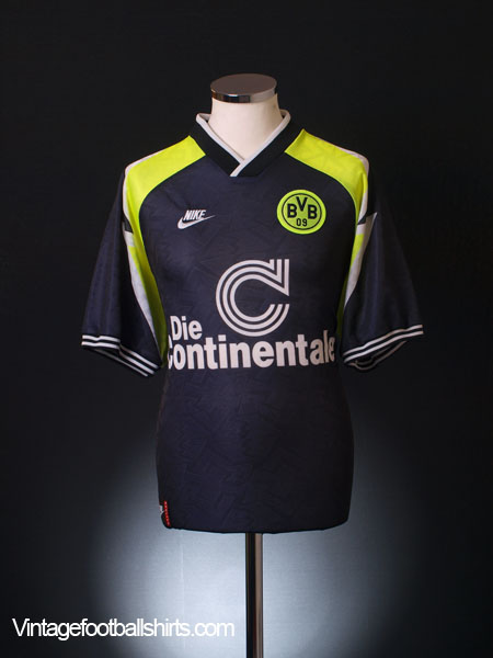 1995-96 Borussia Dortmund Away Shirt S