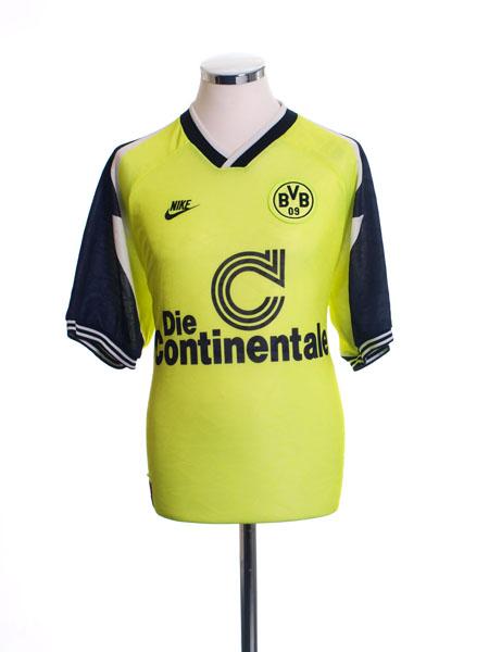 1995-96 Borussia Dortmund 'Deutscher Meister' Home Shirt M