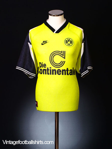 1995-96 Borussia Dortmund Home Shirt S