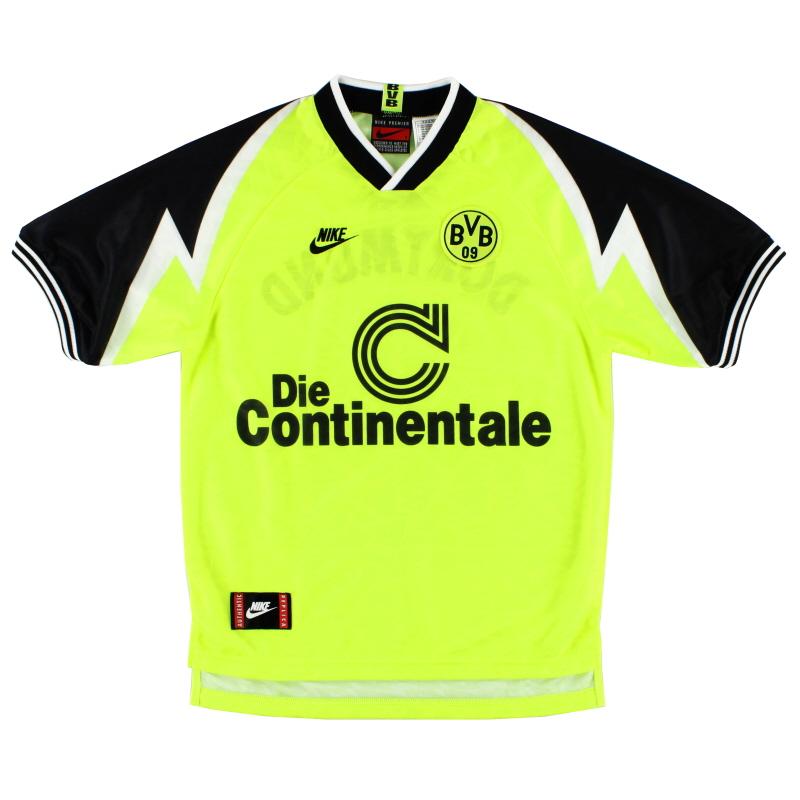 1995-96 Borussia Dortmund Home Shirt L.Boys