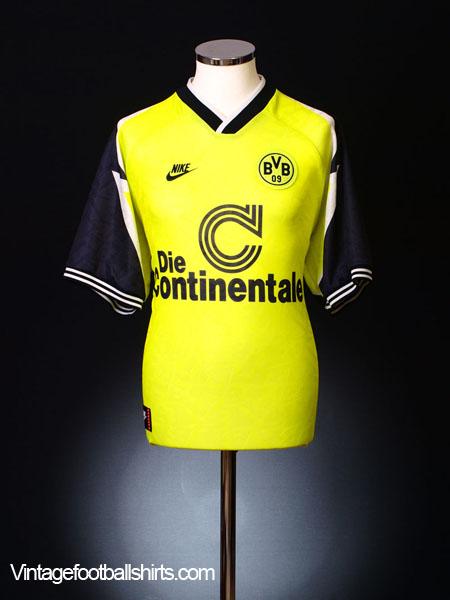 1995-96 Borussia Dortmund Home Shirt L