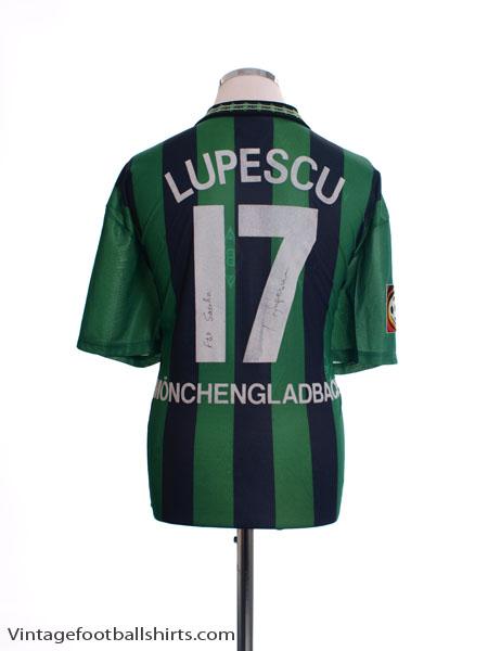 1995-96 Borussia Monchengladbach Match Issue Lupescu #17