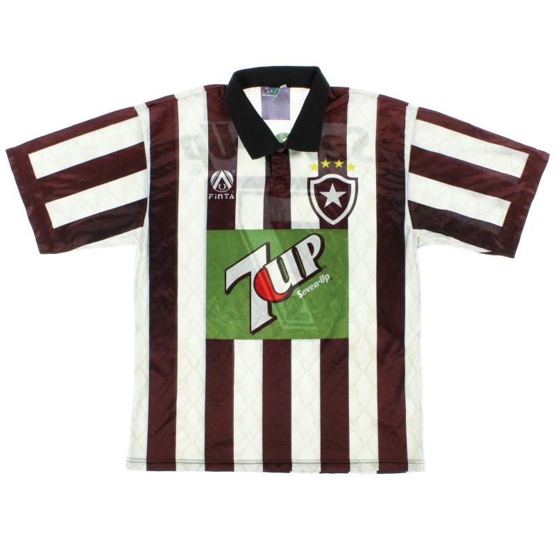 1995-96 Botafogo Home Shirt #7 L