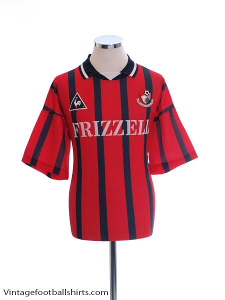 1995-96 Bournemouth Home Shirt #7 L