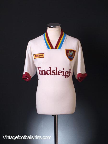 1995-96 Burnley Away Shirt L