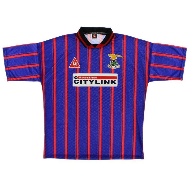 1995-96 Caledonian Thistle Home Shirt XL