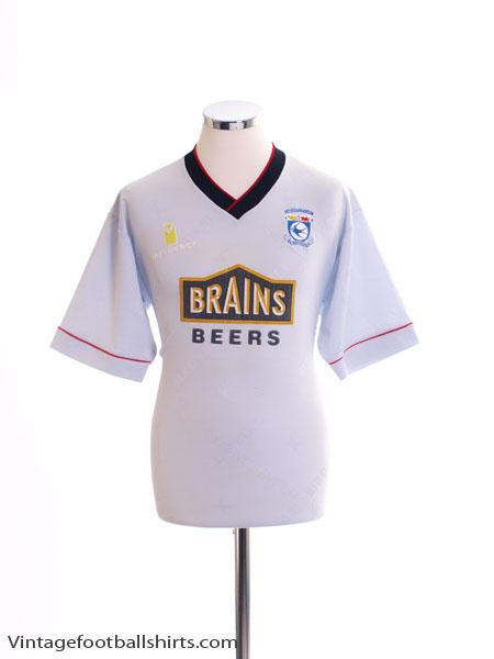 1995-96 Cardiff Away Shirt S