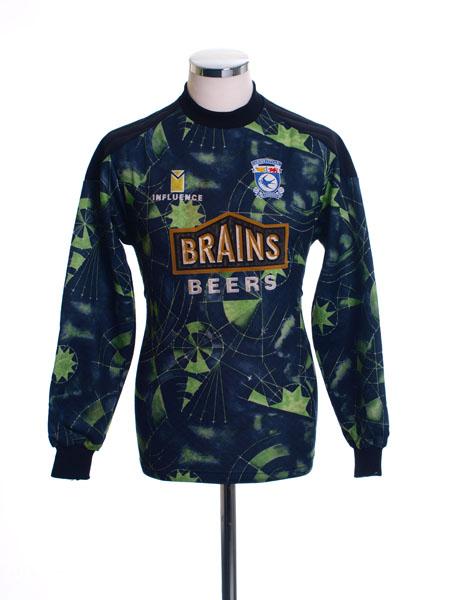 1995-96 Cardiff Goalkeeper Shirt S