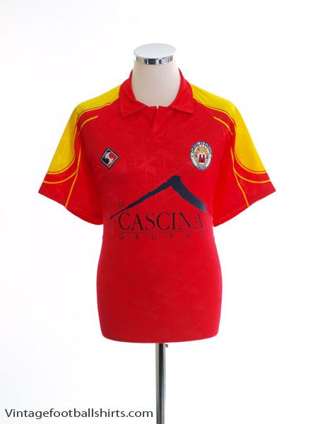 1995-96 Castel di Sangro Home Shirt #11 XL