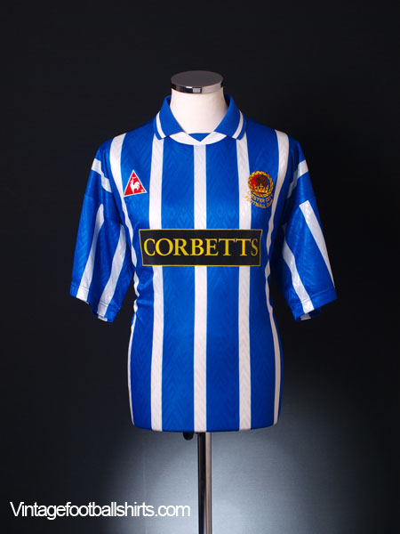 1995-96 Chester Home Shirt XL