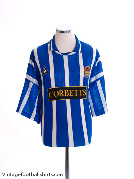 1995-96 Chester Home Shirt XXL