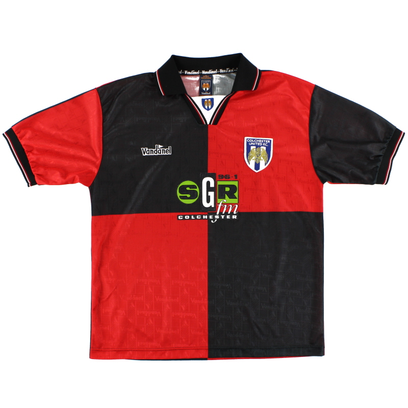 1995-96 Colchester Vandanel Away Shirt L