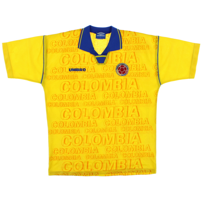 1995-96 Colombia Home Shirt XL