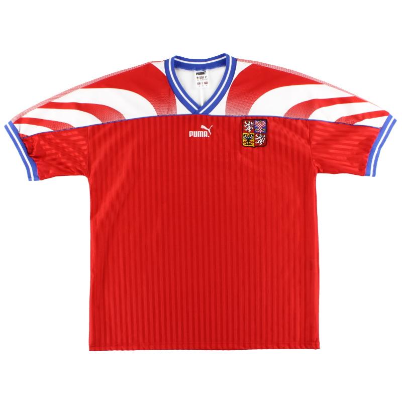 1995-96 Czech Republic Puma Home Shirt XL