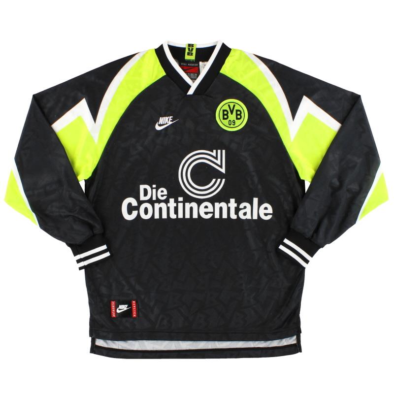 1995-96 Dortmund Nike 'Deutscher Meister' Away Shirt L/S M