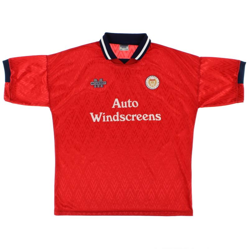 1995-96 Dundee Away Shirt XL