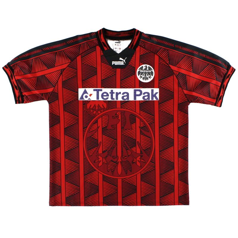 1995-96 Eintracht Frankfurt Puma Home Shirt XL