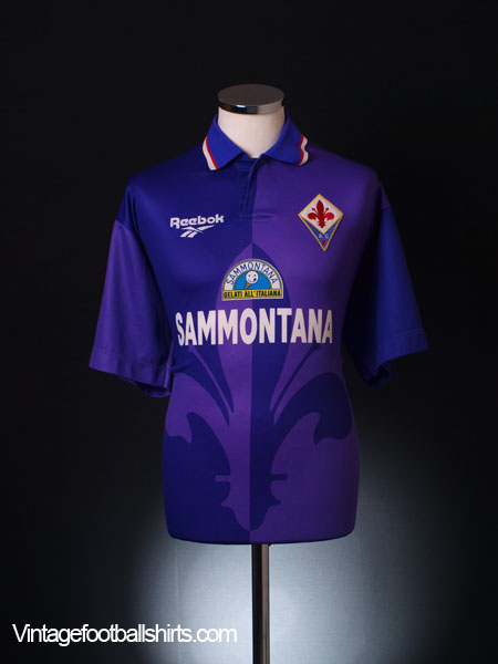1995-96 Fiorentina Home Shirt XL