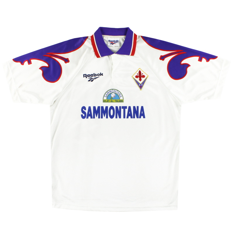 1995-96 Fiorentina Reebok Away Shirt L