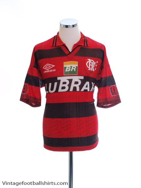 1995-96 Flamengo Home Shirt L