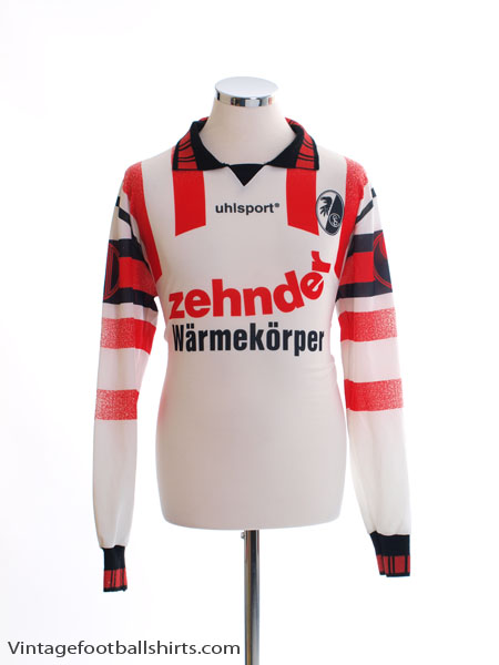 1995-96 Freiburg Away Shirt L/S L