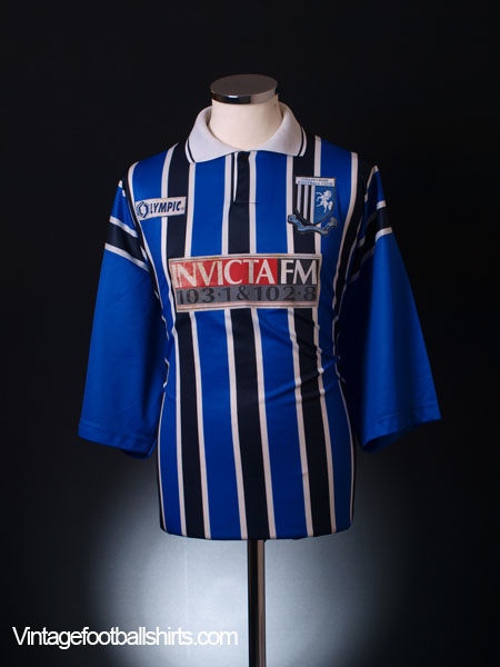 1995-96 Gillingham Home Shirt  XXL