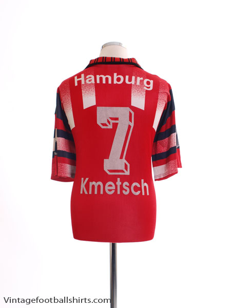 1995-96 Hamburg Third Shirt Kmetsch #7 XL