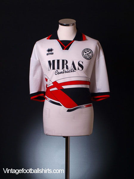 1995-96 Hednesford Home Shirt *Mint* XXL