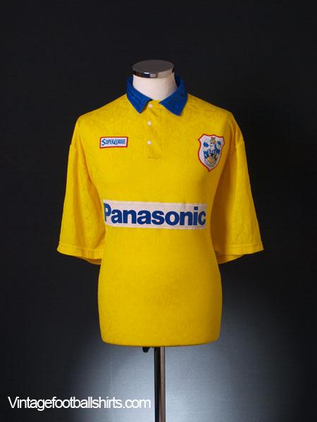 1995-96 Huddersfield Town Away Shirt XL