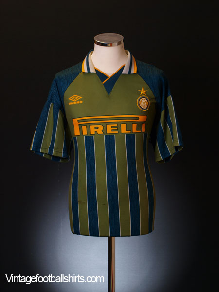 1995-96 Inter Milan Away Shirt L