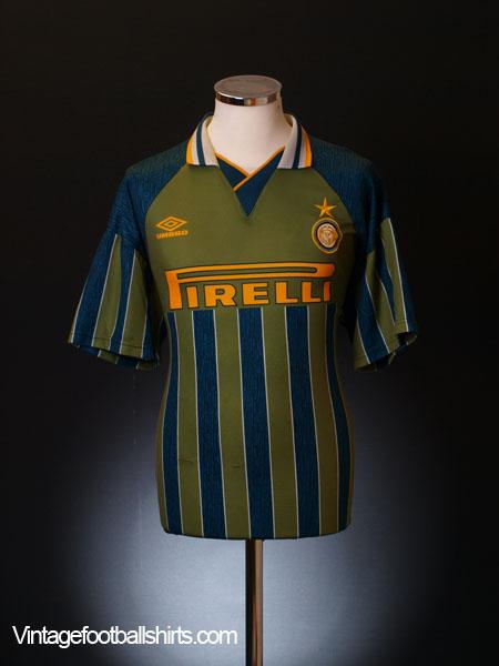 1995-96 Inter Milan Away Shirt *BNWT* L