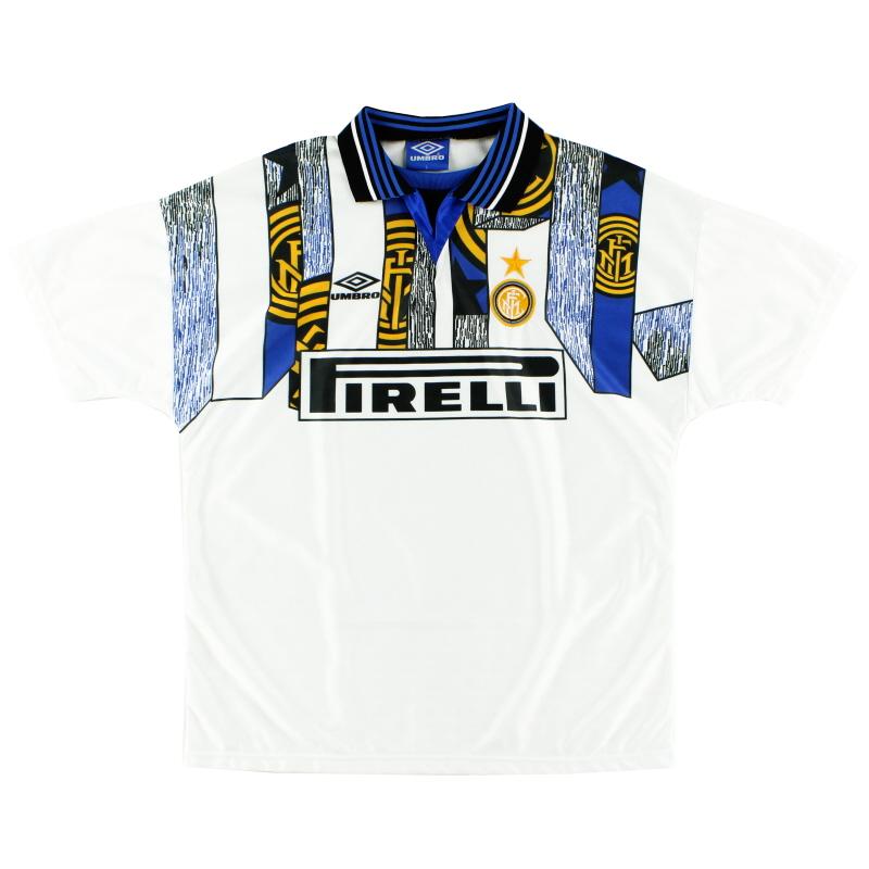 1995-96 Inter Milan Third Shirt *Mint* L