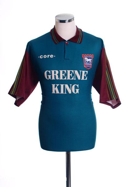1995-96 Ipswich Away Shirt M