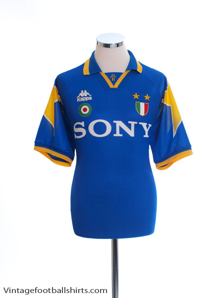 1995-96 Juventus Away Shirt L