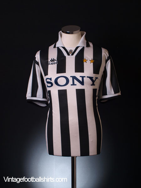 1995-96 Juventus Home Shirt S