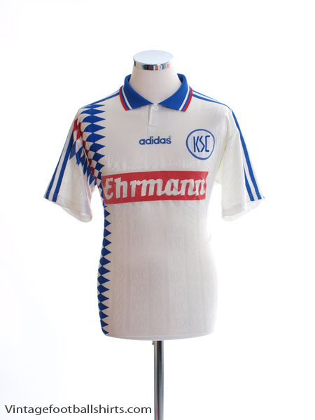 1995-96 Karlsruhe Home Shirt S