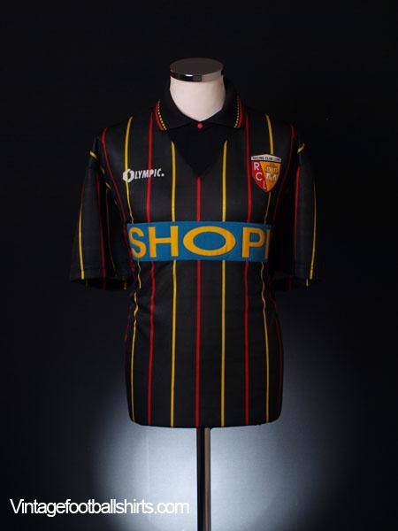 1995-96 Lens Away Shirt L