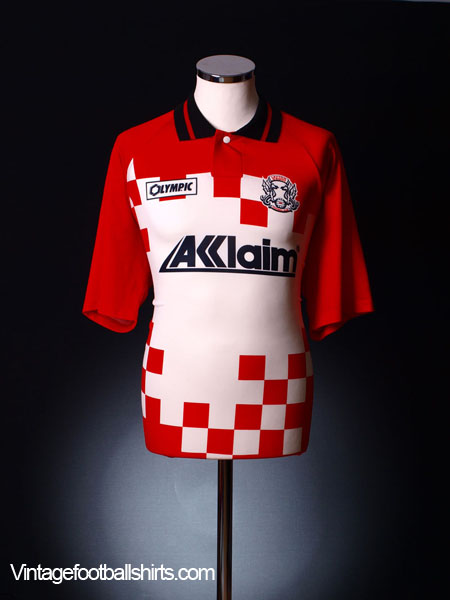 1995-96 Leyton Orient Home Shirt XL