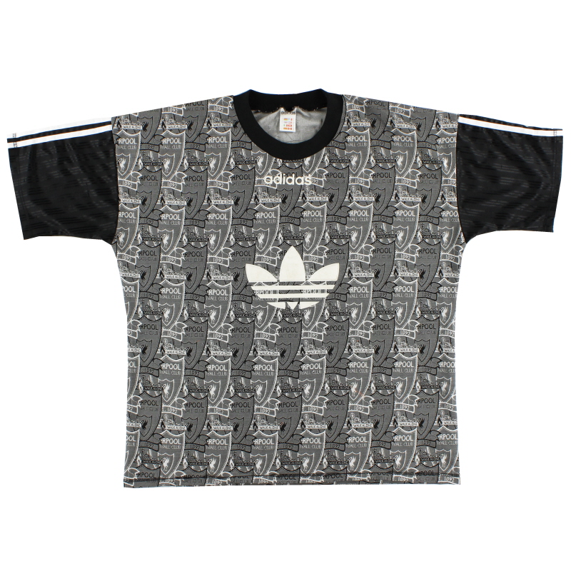 1995-96 Liverpool adidas Training Shirt XL