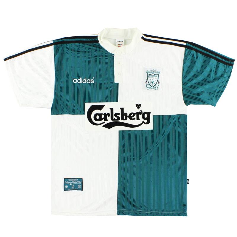 1995-96 Liverpool Away Shirt XL - 093767