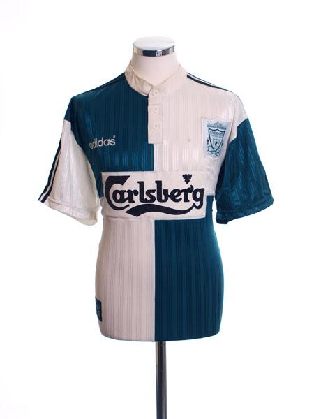 1995-96 Liverpool Away Shirt L