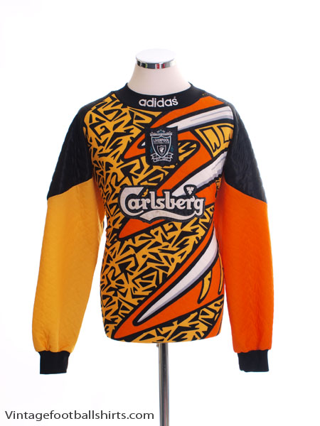 newest ace6a 9599d 1995-96 Liverpool Goalkeeper Shirt L for sale