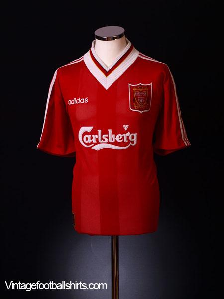1995-96 Liverpool Home Shirt L