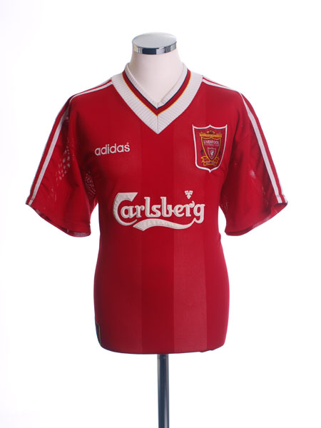 1995-96 Liverpool Home Shirt XS