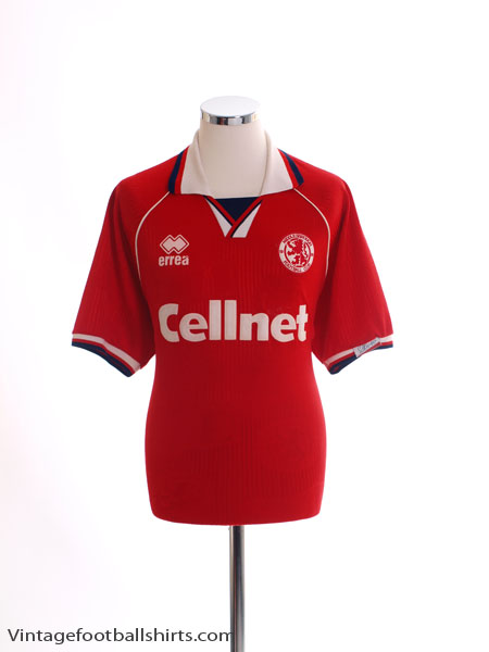 1995-96 Middlesbrough Home Shirt XL