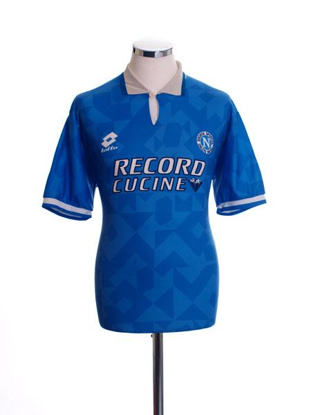 1995-96 Napoli Home Shirt XL