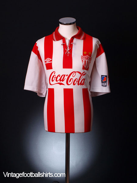 1995-96 Necaxa Home Shirt XXL