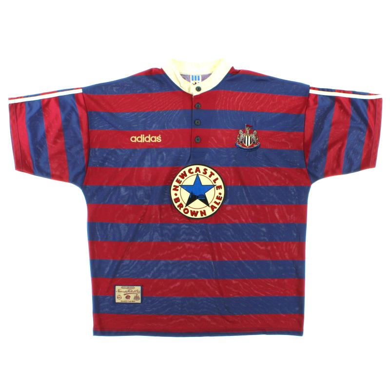 1995-96 Newcastle adidas Away Shirt L - 93738
