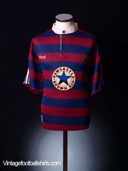 1995-96 Newcastle Away Shirt XS.Boys