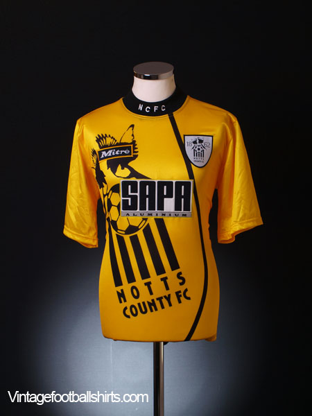 1995-96 Notts County Away Shirt XS